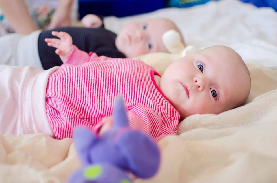 Babák látása 3 hónapos korukban