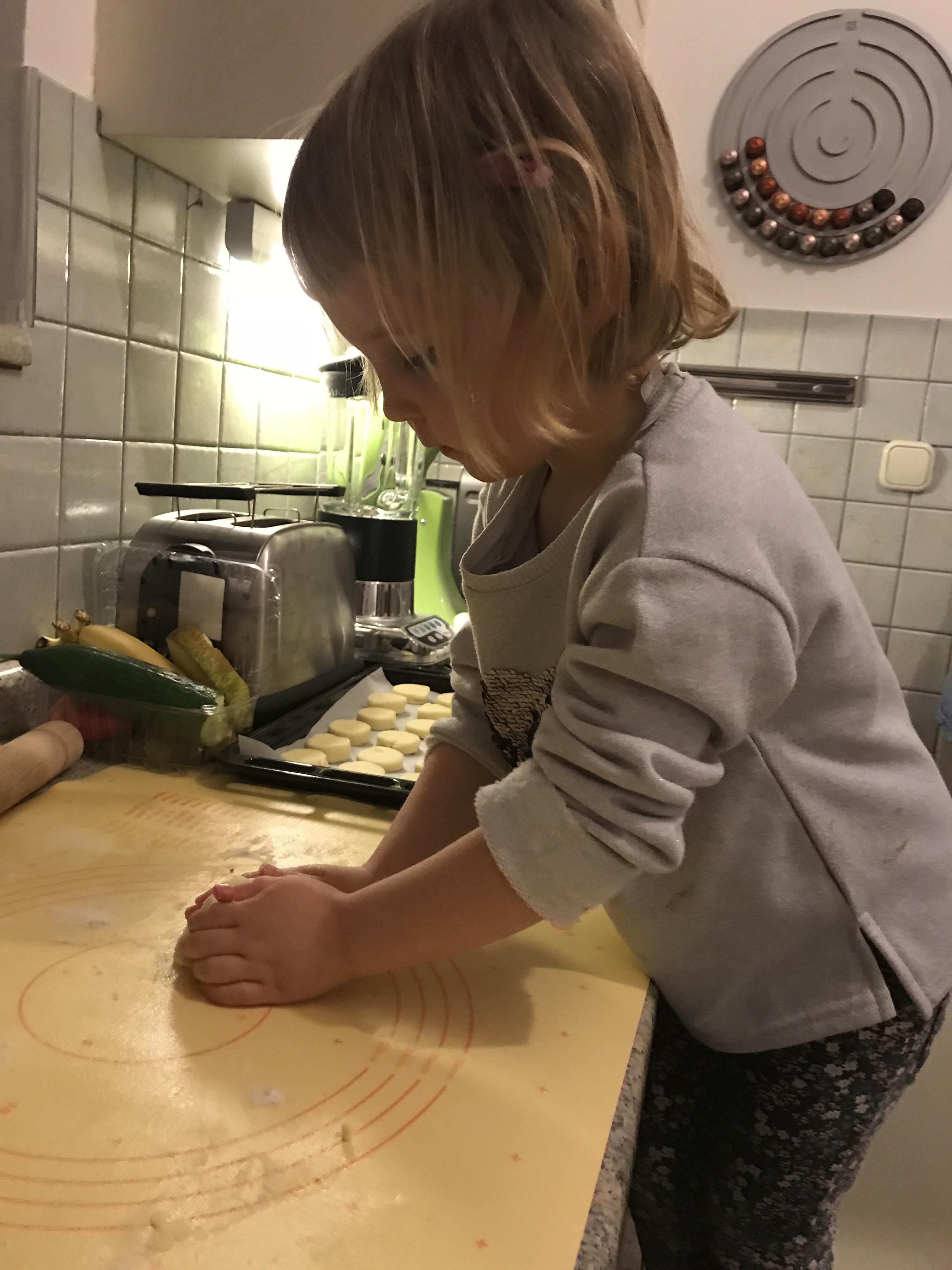 Burgnyás pogácsa tésztája