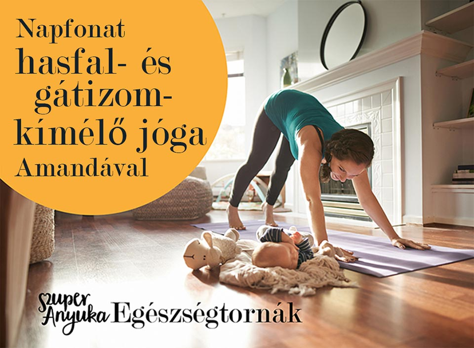 Kemenczky-Majer Amanda jóga- és kismamajógaflow-oktató, jógapszichológia tanácsadó programja